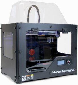 MakerBot Replicator 2X Dim. stampa 24x15x15 cm Doppio estrusore